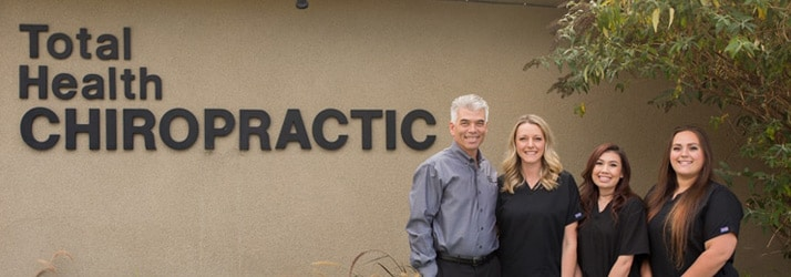 Chiropractor Livermore CA Thomas Mora Total Health Chiropractic Staff Outside